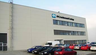 PPG Deco Czech opens a new distribution center for the Czech Republic and Slovakia