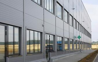 CBRE: PANATTONI has completed the greenest logistics building in the Czech Republic for ViaPharma