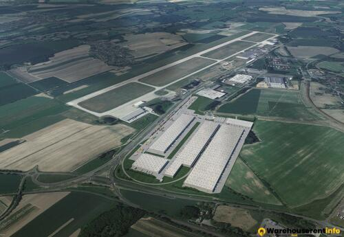 Warehouses to let in Ostrava Airport Multimodal Park