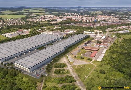 Warehouses to let in Panattoni Park Cheb South
