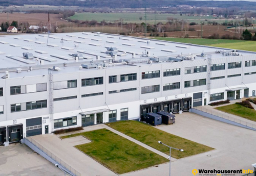 Warehouses to let in P3 Prague D6